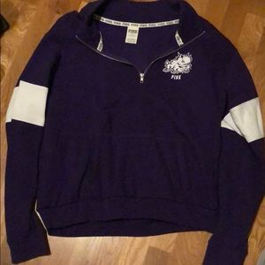 Pink by Victoria Secret TCU Sweatshirt